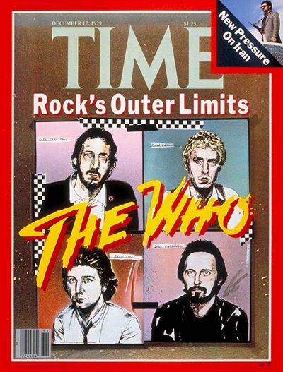 The Who On The Cover Of Time's Magazine 1979