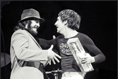 Keith Moon and John Bonham