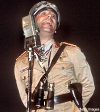 Keith in Adolf Uniform