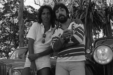 Keith Moon & Alice Cooper