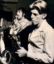 Keith Moon & David Bowie