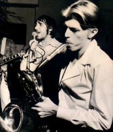 Keith Moon & David Bowie