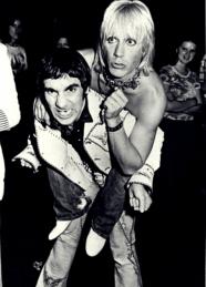 Keith Moon & Iggy