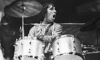 Keith on Drums