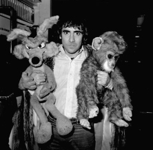 Keith with toys