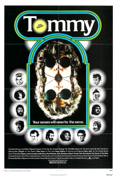 tommy the who first movie 1975
