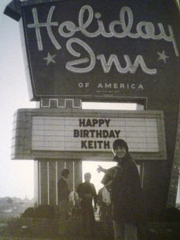 Keith At Holiday Inn