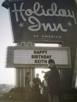 Keith At Holiday Inn